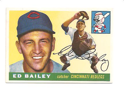1955 Topps #69 Ed Bailey