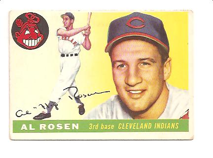 1955 Topps #70 Al Rosen