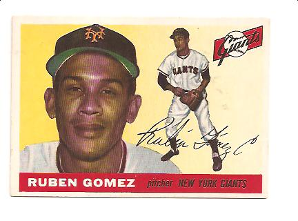 1955 Topps #71 Ruben Gomez