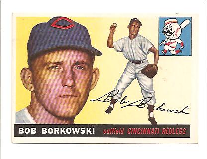 1955 Topps #74 Bob Borkowski