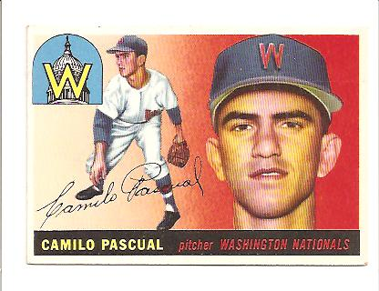 1955 Topps #84 Camilo Pascual RC