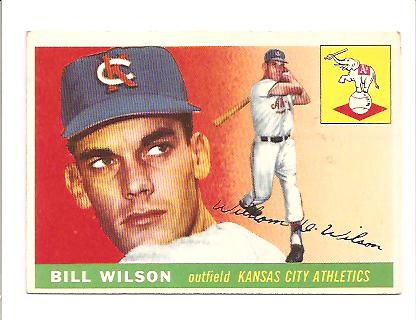 1955 Topps #86 Bill Wilson
