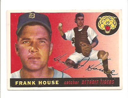 1955 Topps #87 Frank House