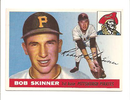 1955 Topps #88 Bob Skinner RC