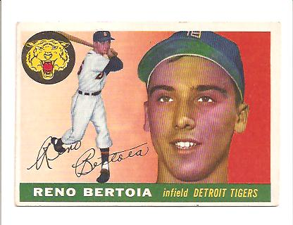 1955 Topps #94 Reno Bertoia