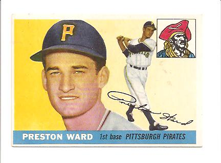 1955 Topps #95 Preston Ward