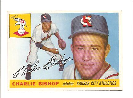 1955 Topps #96 Chuck Bishop