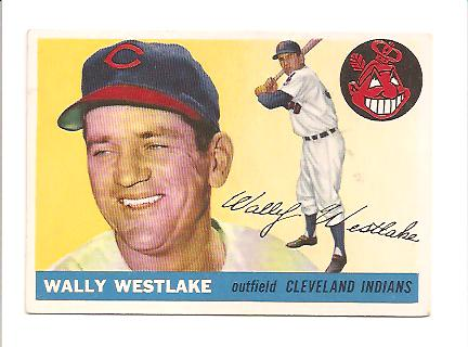 1955 Topps #102 Wally Westlake