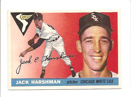 1955 Topps #104 Jack Harshman