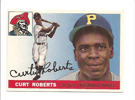 1955 Topps #107 Curt Roberts