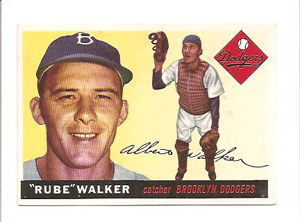 1955 Topps #108 Rube Walker