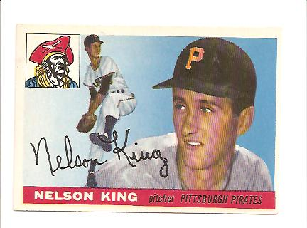 1955 Topps #112 Nelson King RC