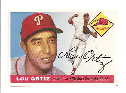 1955 Topps #114 Louis Ortiz RC