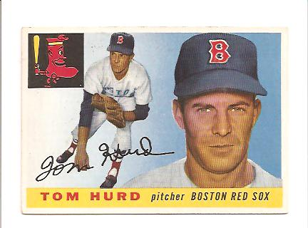 1955 Topps #116 Tom Hurd RC