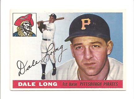 1955 Topps #127 Dale Long RC