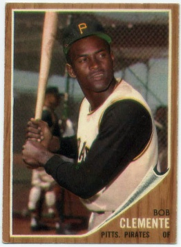 1962 Topps #10 Roberto Clemente