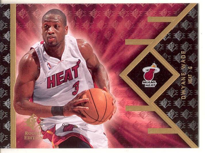 2007-08 SP Rookie Edition #18 Dwyane Wade