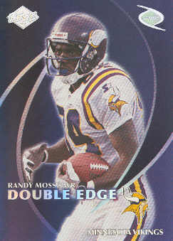 1998 Collector's Edge Odyssey Double Edge #1B J.Rice/R.Moss F