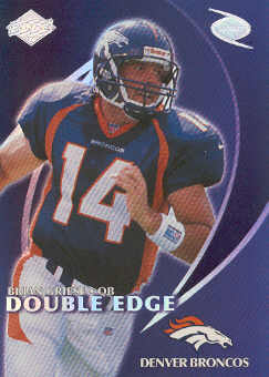 1998 Collector's Edge Odyssey Double Edge #8B J.Elway/B.Griese F