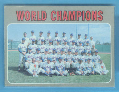 1970 Topps #1 New York Mets TC