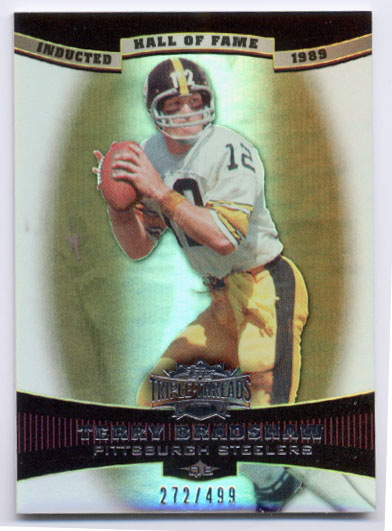 2006 Topps Triple Threads Sepia #8 Terry Bradshaw