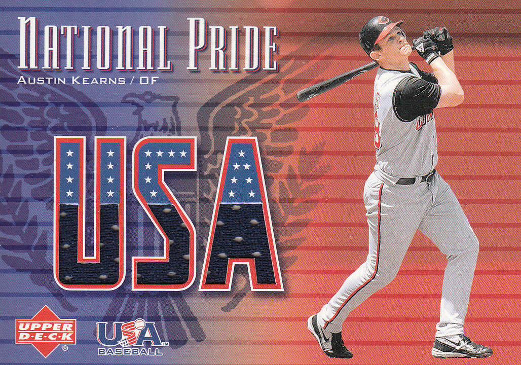 2003 Upper Deck National Pride Memorabilia #AK A.Kearns Right Jsy