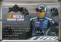 2008 Press Pass Stealth NASCAR Racing Factory Sealed HOBBY Box With HOBBY EXCLUSIVE Chrome Base Cards & 1 Autographed Card Per Box