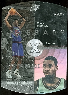 1997-98 SPx Silver #42 Tracy McGrady