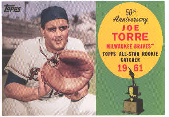 2008 Topps 50th Anniversary All Rookie Team #AR75 Joe Torre