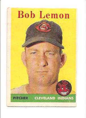 1958 Topps #2A Bob Lemon