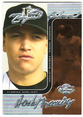 2006 Topps Co-Signers Changing Faces Silver Bronze #8C Miguel Cabrera/Hanley Ramirez