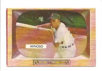 1955 Bowman #25 Minnie Minoso