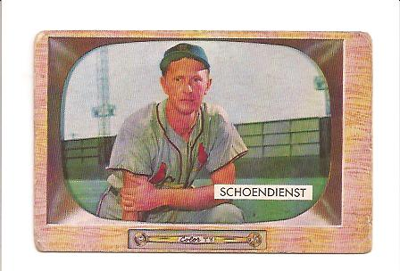 1955 Bowman #29 Red Schoendienst