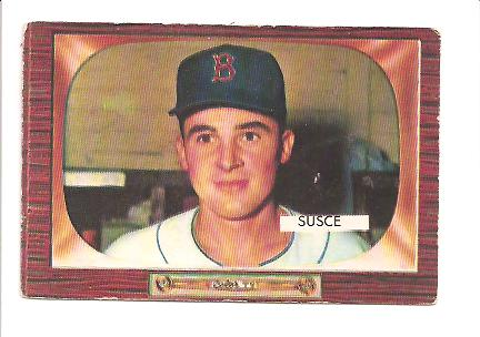 1955 Bowman #320 George Susce RC