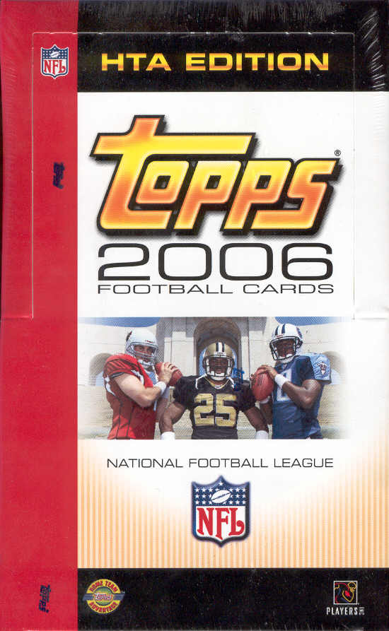 2006 Topps NFL Football Sports Trading Cards Jumbo Box