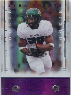 2008 Playoff Prestige Xtra Points Purple #154 Jonathan Stewart