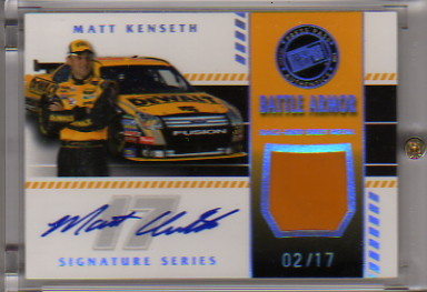 2008 Press Pass Stealth Battle Armor Autographs #BASMK Matt Kenseth/17