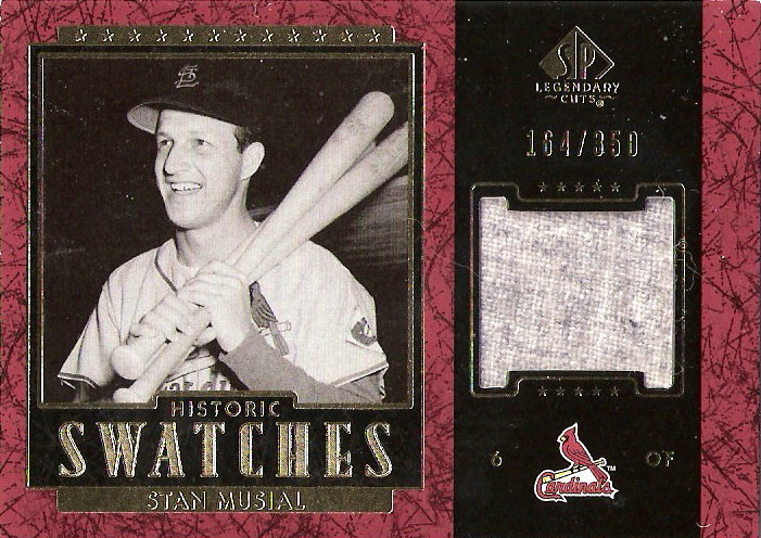 2003 SP Legendary Cuts Historic Swatches #SM Stan Musial Jsy/350