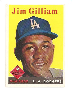 1958 Topps #215 Jim Gilliam