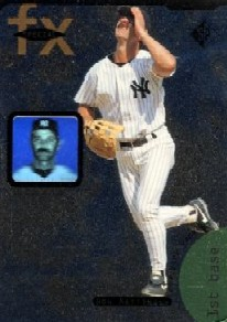 1995 SP Special FX #15 Don Mattingly front image