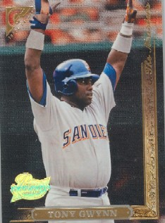 1996 Topps Gallery Players Private Issue #147 Tony Gwynn