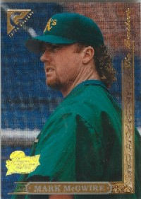 1996 Topps Gallery Players Private Issue #155 Mark McGwire front image