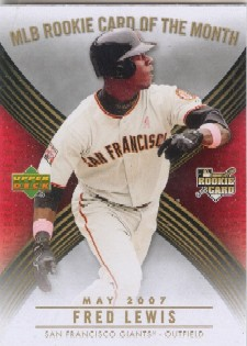 2007 Upper Deck MLB Rookie Card of the Month #ROM2 Fred Lewis
