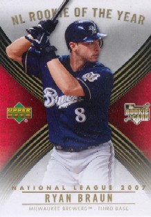 2007 Upper Deck MLB Rookie Card of the Month #ROMNL Ryan Braun