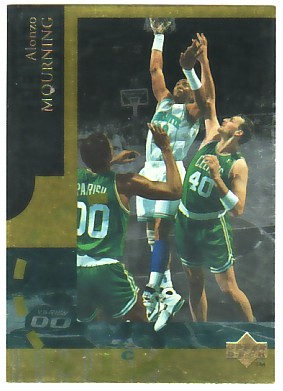 1994-95 Upper Deck Special Edition Gold #9 Alonzo Mourning