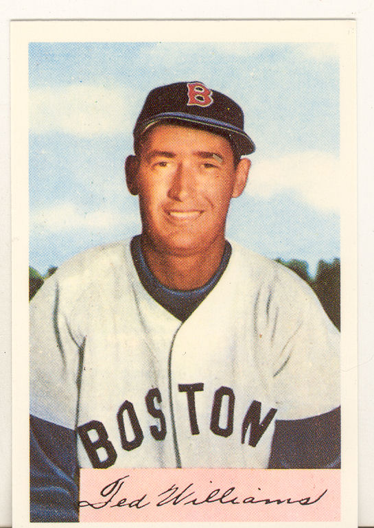 1989 Bowman Reprint Inserts Tiffany #11 Ted Williams '54