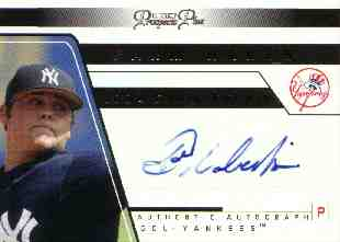 2006 TRISTAR Prospects Plus Farm Hands Autographs #11 Joba Chamberlain