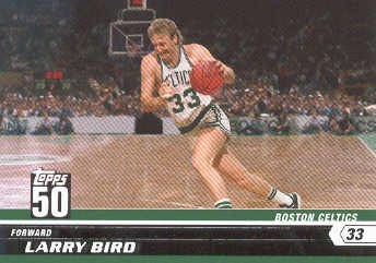 2007-08 Topps 50th Anniversary #20 Larry Bird