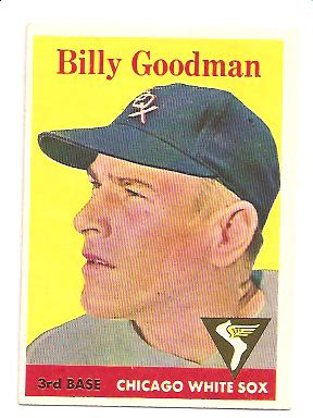 1958 Topps #225 Billy Goodman