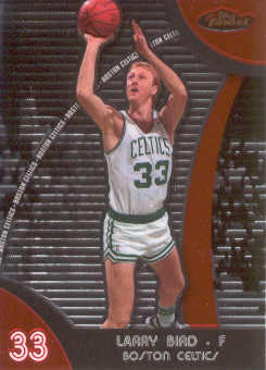 2007-08 Finest #50 Larry Bird